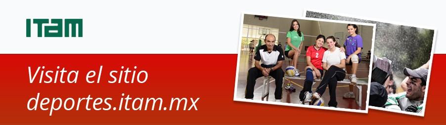 visita el sitio deportes.itam.mx